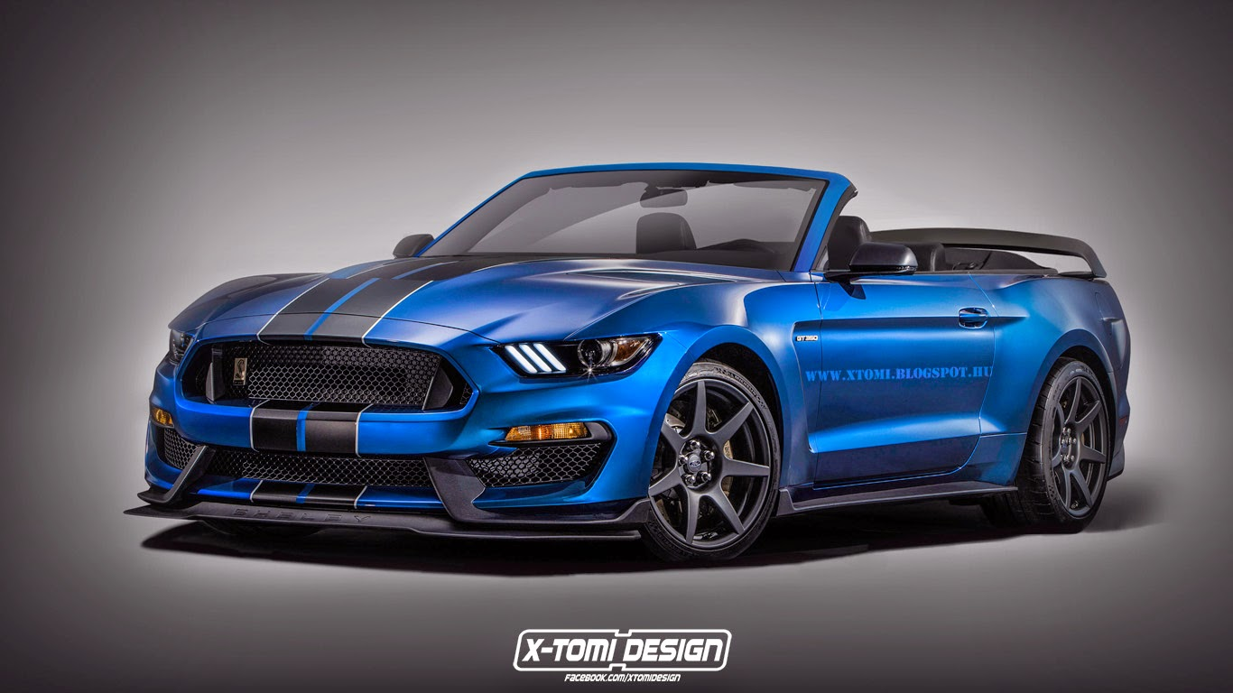 Ford shelby gt350r mustang convertible dreamt up gtspirit - Mustang shelby ...