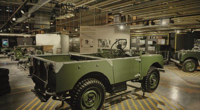 Land Rover Recreates 1948 Defender Production Line