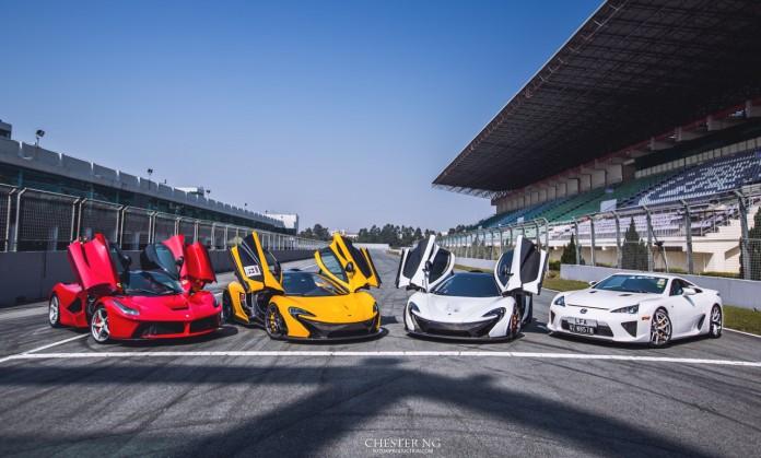 Supercar Showdown at Zhuhai International Circuit China!