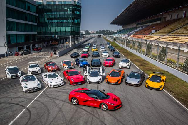 Supercar Showdown at Zhuhai International Circuit China!