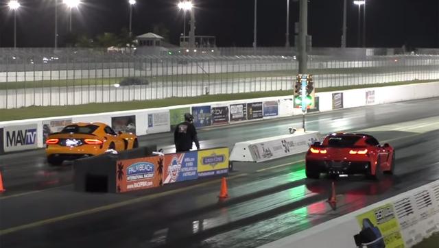 Corvette Z06 vs SRT Viper TA