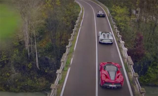 LaFerrari, McLaren P1, Porsche 918 Spyder