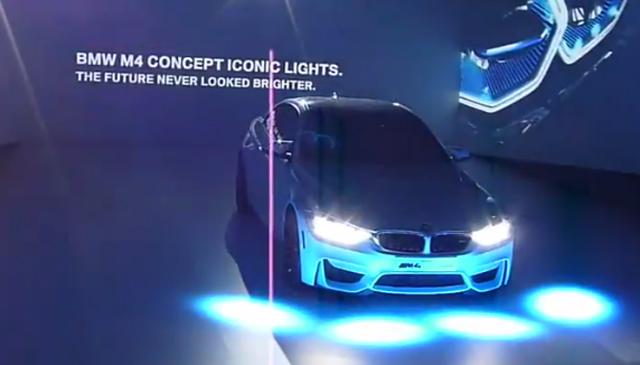 BMW M4 Iconic Lights