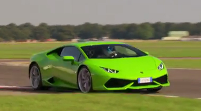 video lamborghini huracan sets blistering top gear time gtspirit. Black Bedroom Furniture Sets. Home Design Ideas