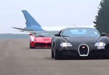 Bugatti Veyron and LaFerrari