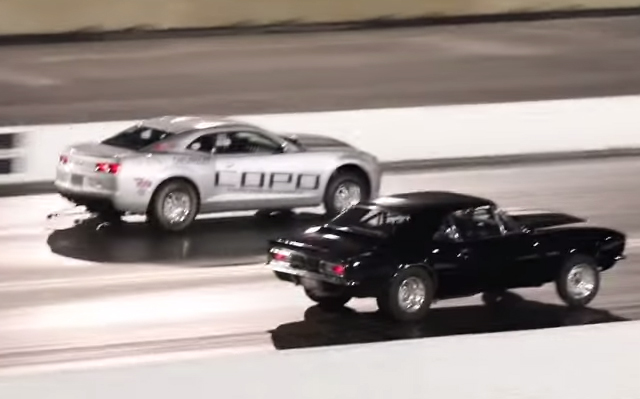 2013 Copo Camaro vs 1967 Chevrolet Camaro