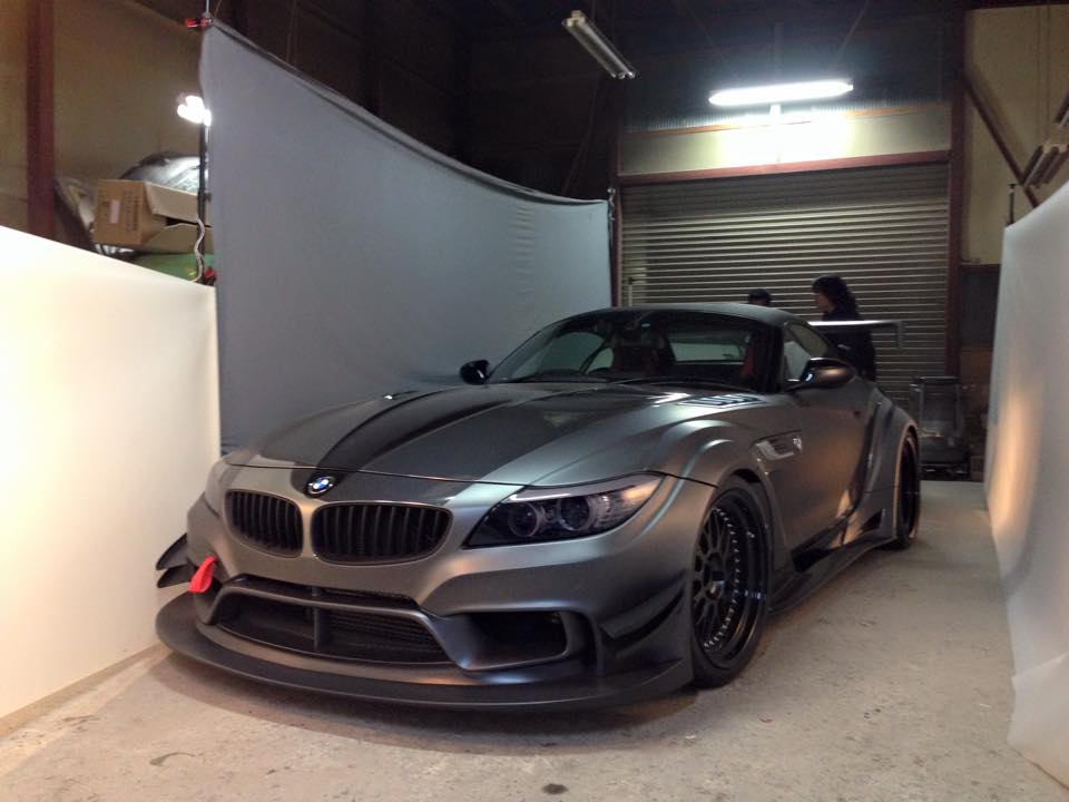 Tuningcars Varis Previews Bmw Z4 Widebody For Tokyo Auto