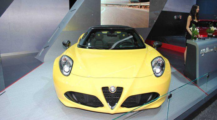 Detroit 2015: Alfa Romeo 4C Spider