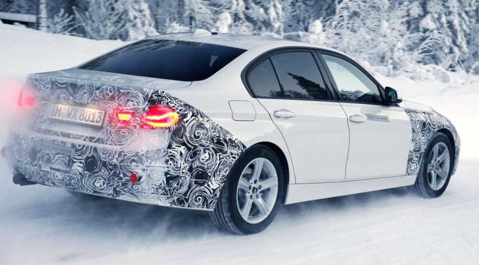 Facelifted BMW 3-Series