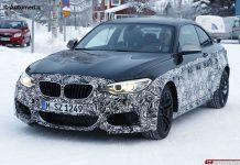 2016 BMW M2 Spied Testing at Snowy Nurburgring