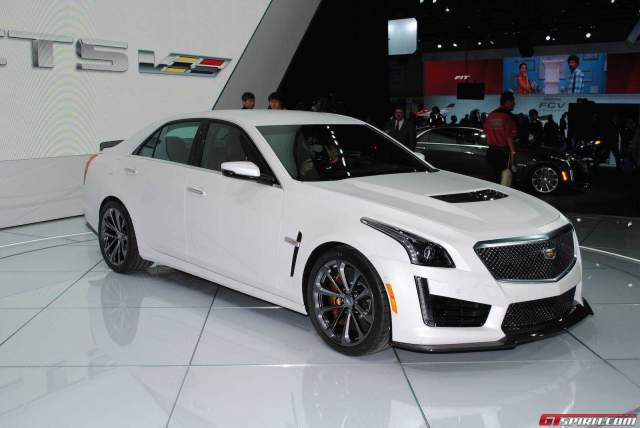 Detroit 2015: Cadillac CTS-V