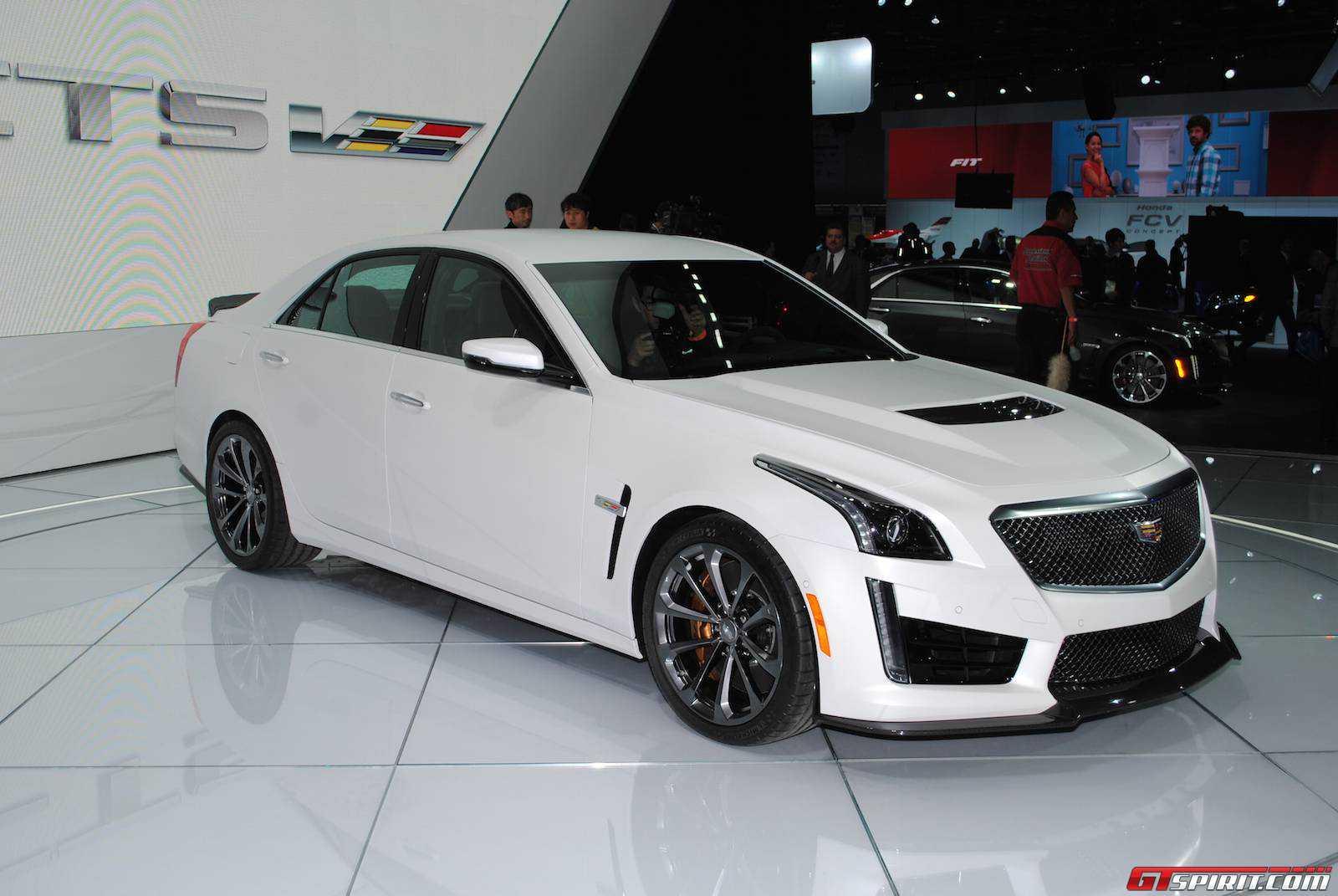 Detroit 2015: Cadillac CTS-V - GTspirit