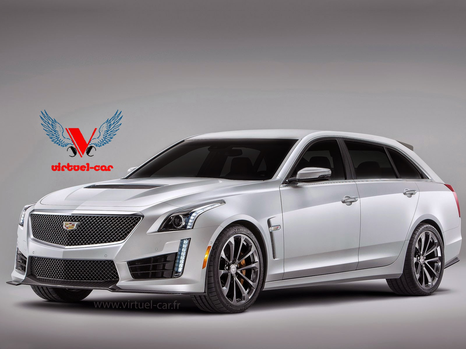 Cadillac Cts V Wagon For Sale >> 2016 Cadillac CTS-V Wagon Rendered - GTspirit