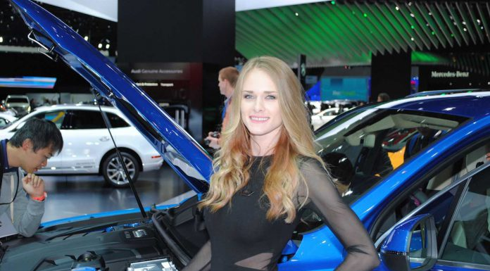 Girls of the Detroit Motor Show 2015 Part 2