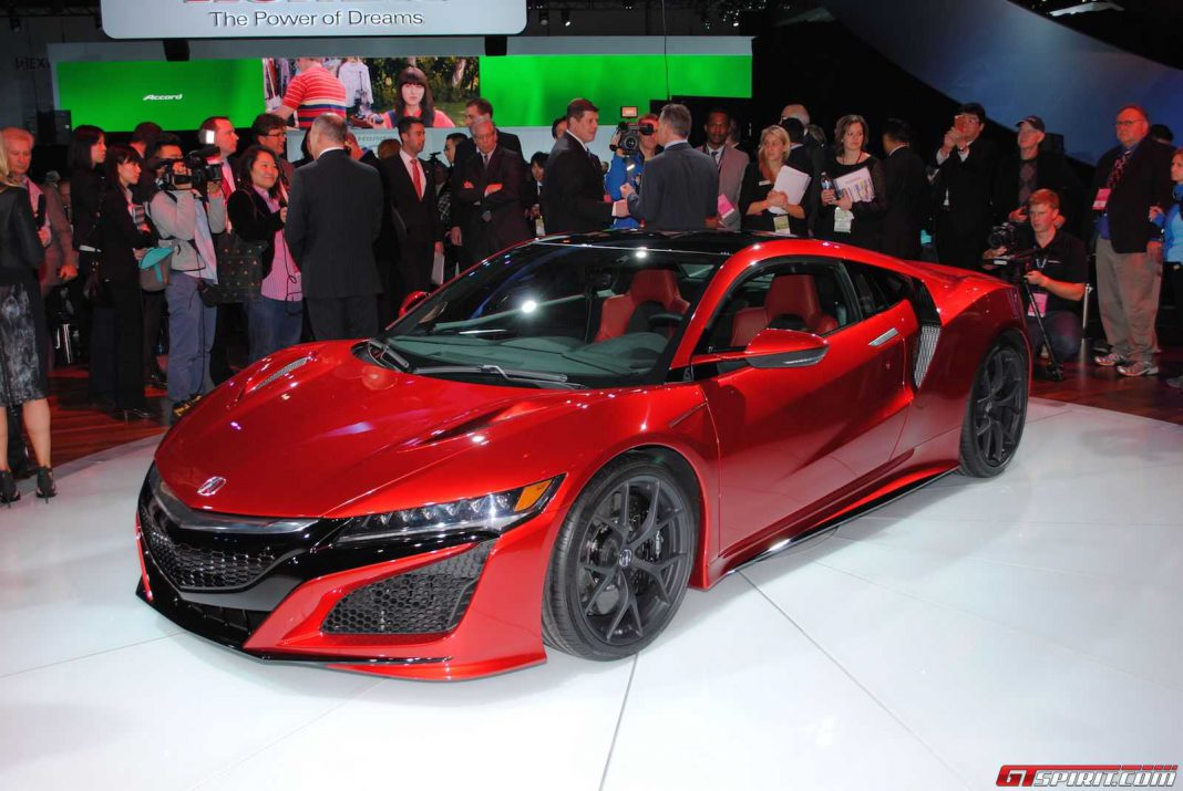 Honda NSX GT racer coming in 2017