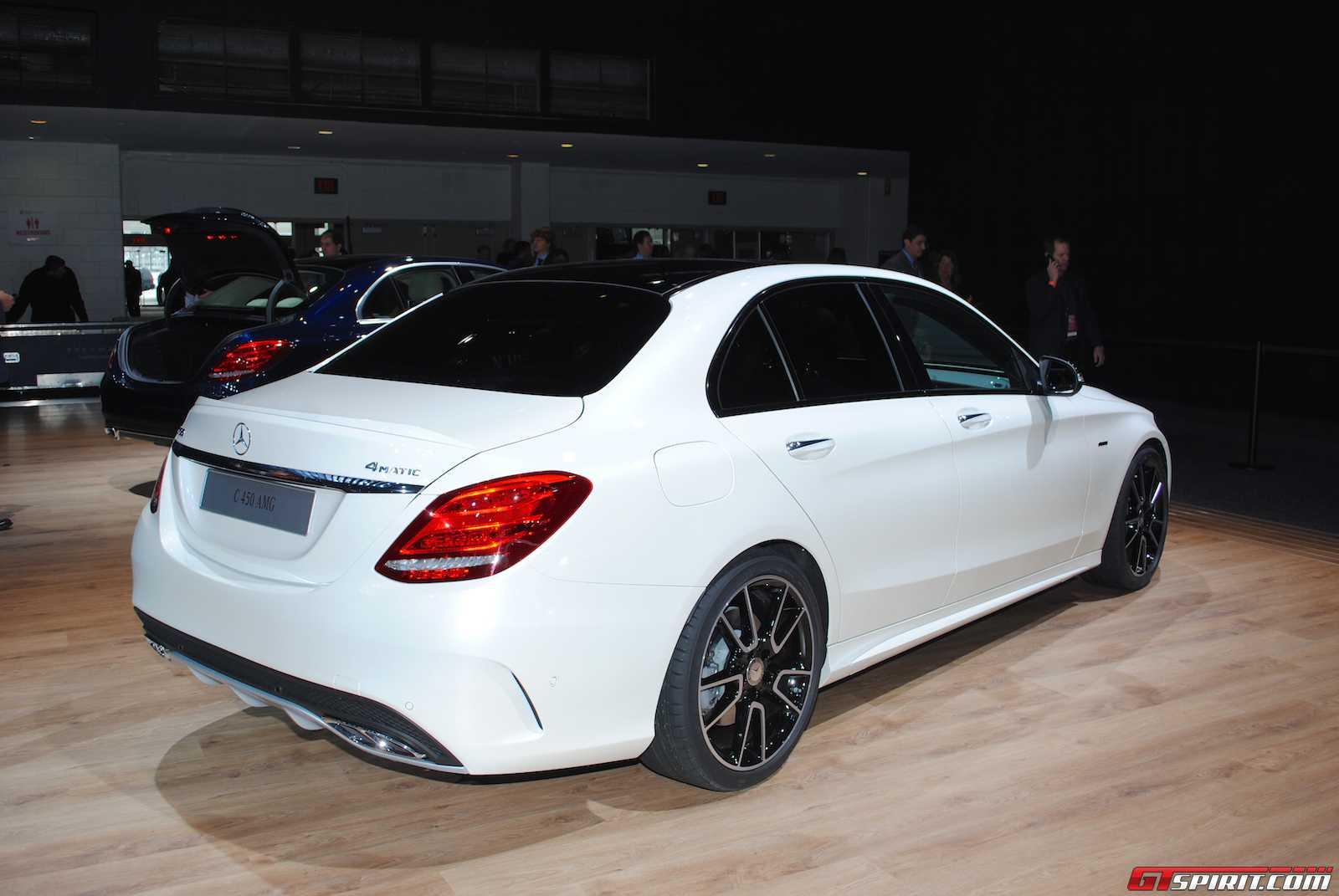 Detroit 2015 Mercedes Benz C450 Amg 4matic Gtspirit