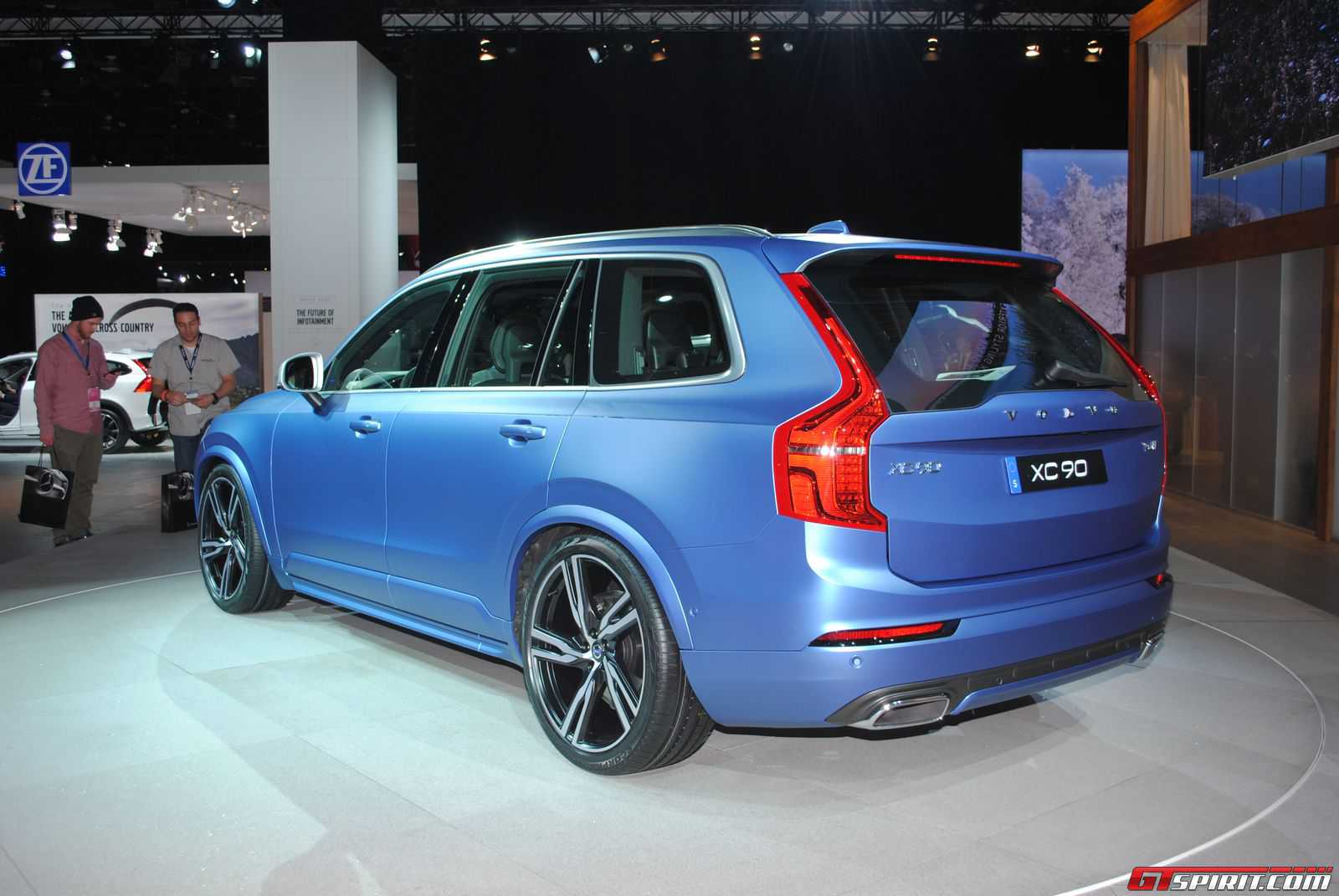 detroit 2015 volvo xc90 r design gtspirit. Black Bedroom Furniture Sets. Home Design Ideas