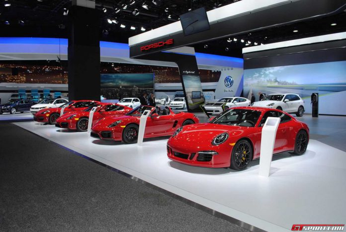Porsche at Detroit Motor Show 2015