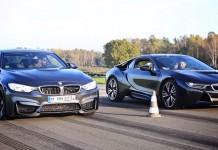 BMW i8 vs BMW M4
