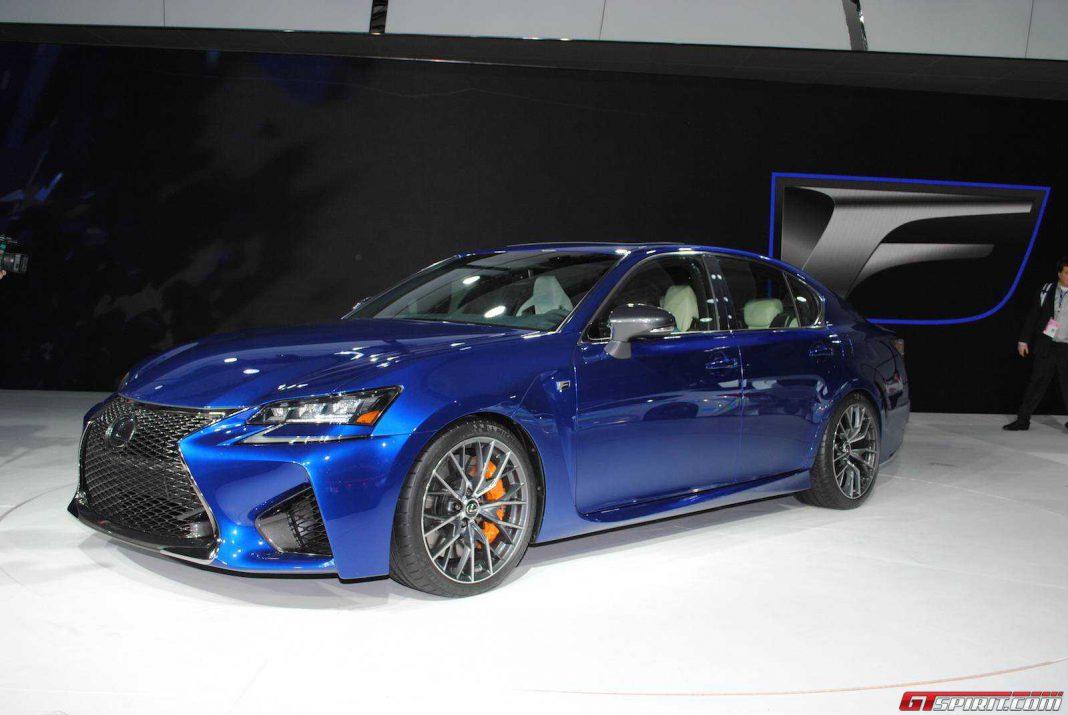 Detroit 2015: Lexus GS F