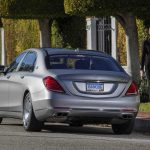2016 Mercedes-Maybach S 600 Rear