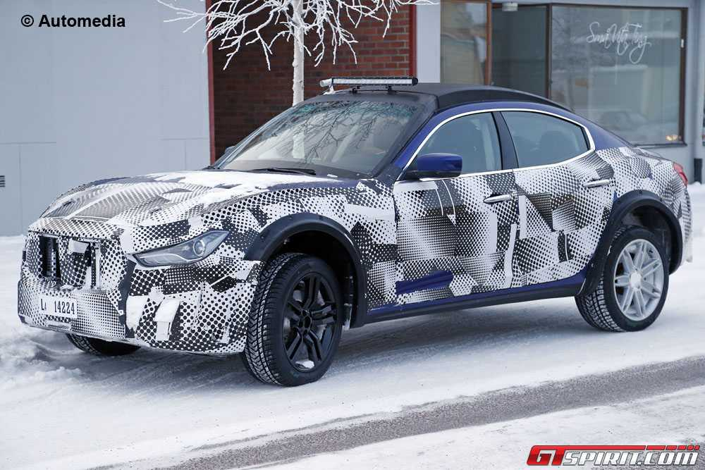 maserati levante suv winter tests gtspirit. Black Bedroom Furniture Sets. Home Design Ideas