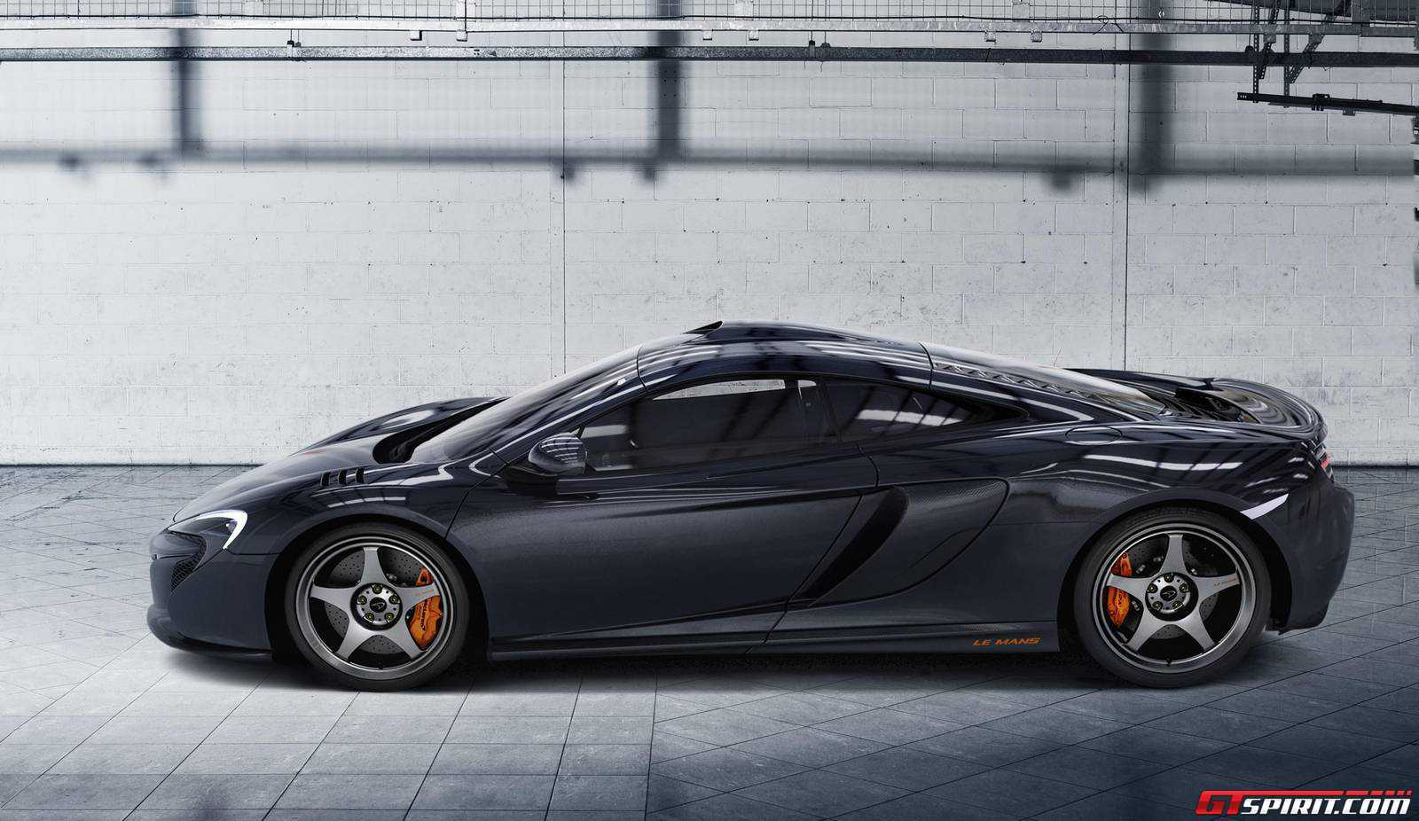 official 2015 mclaren 650s le mans by mso gtspirit. Black Bedroom Furniture Sets. Home Design Ideas