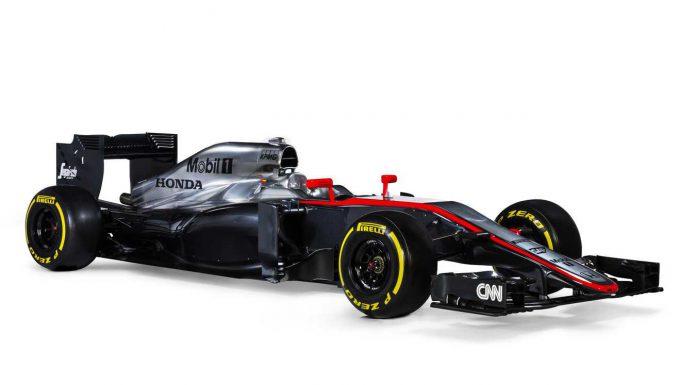 2015 McLaren MP4-30 F1 Car