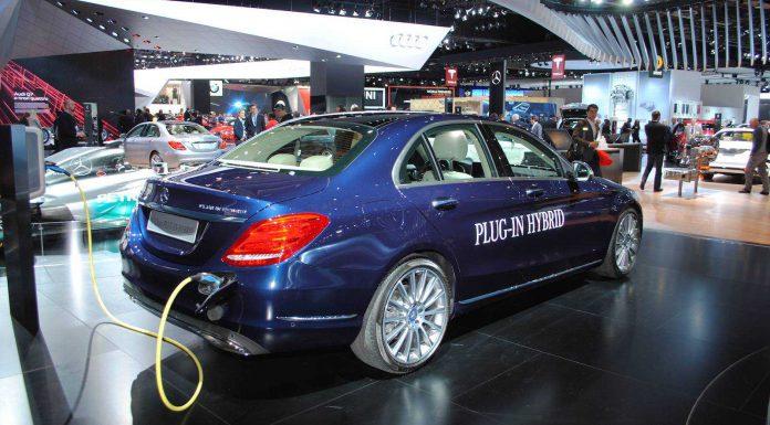 Detroit 2015: Mercedes-Benz C350 Plug-in Hybrid