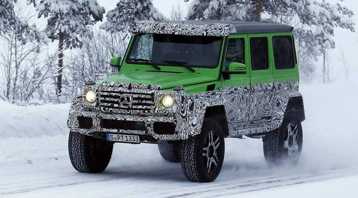 "Mercedes-Benz G63 AMG ""Green Monster"" Spied Again"