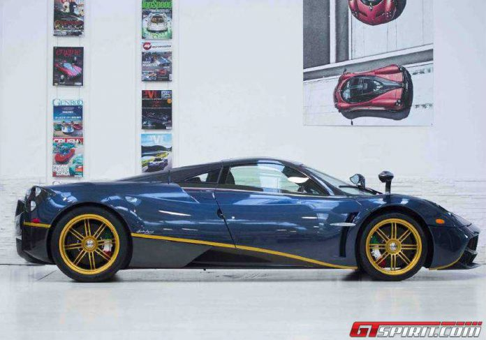 New Pagani Huayra 730S Leaves the Factory