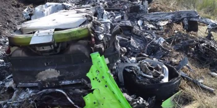 video: lamborghini huracan crashes at 320 km/h! - gtspirit