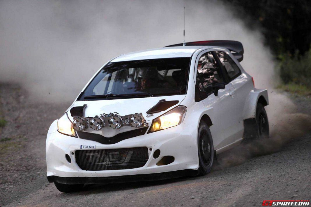 Toyota to Return to WRC in 2017 with a Yaris