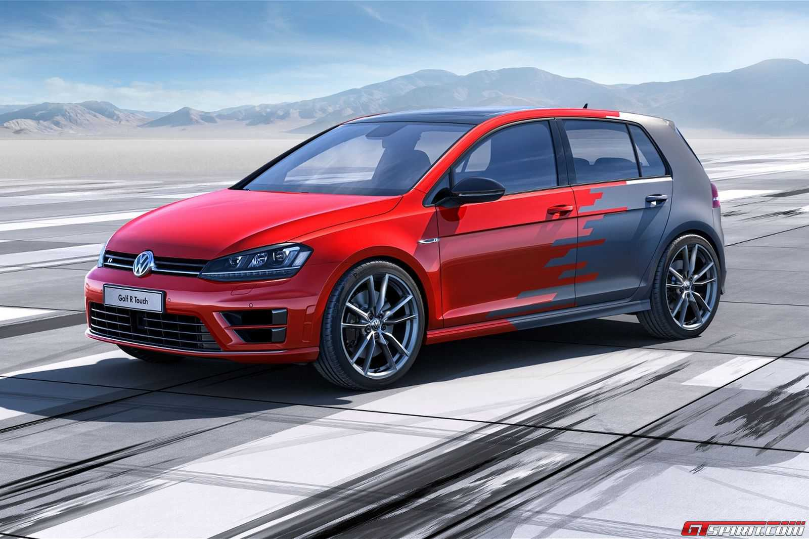 Official: Volkswagen Golf R Touch Concept - GTspirit