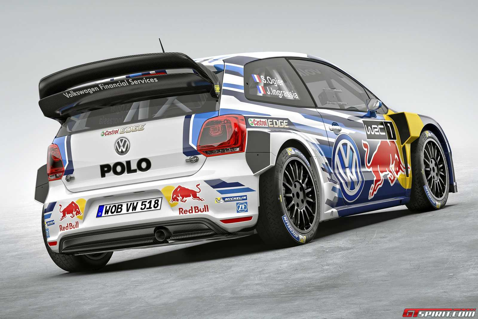 official 2015 volkswagen polo r wrc gtspirit. Black Bedroom Furniture Sets. Home Design Ideas