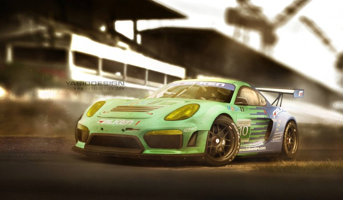 Track-Spec Porsche Cayman GT4 Imagined!