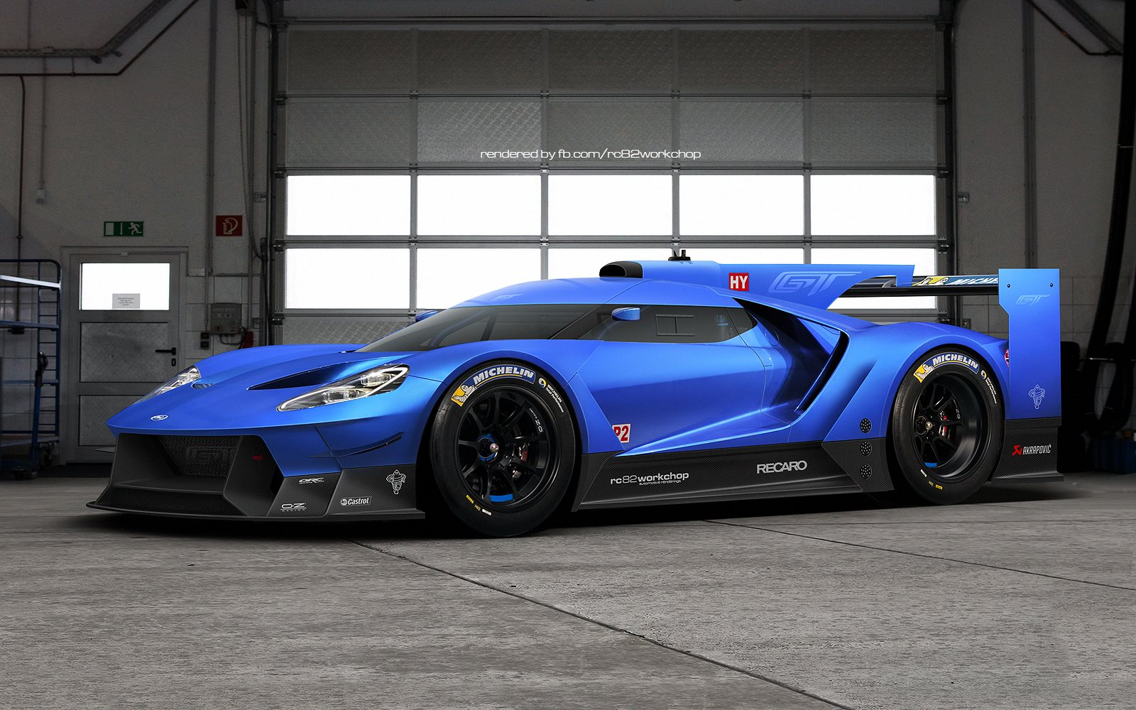 Anderson Ford Motorsports >> 2016 Ford GT Le Mans Prototype Comes to Life! - GTspirit