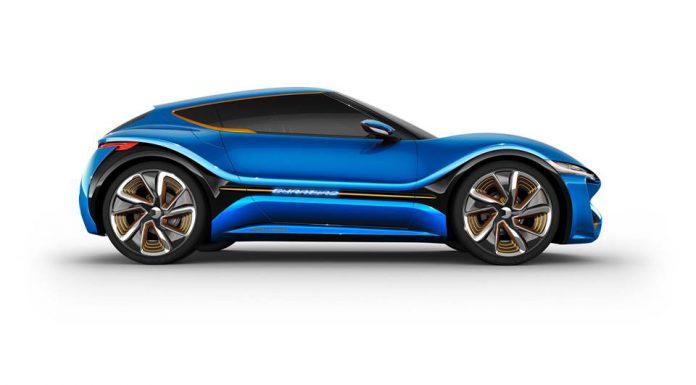 nanoFlowCell Quantino Electric Sportscar with 1000km Range