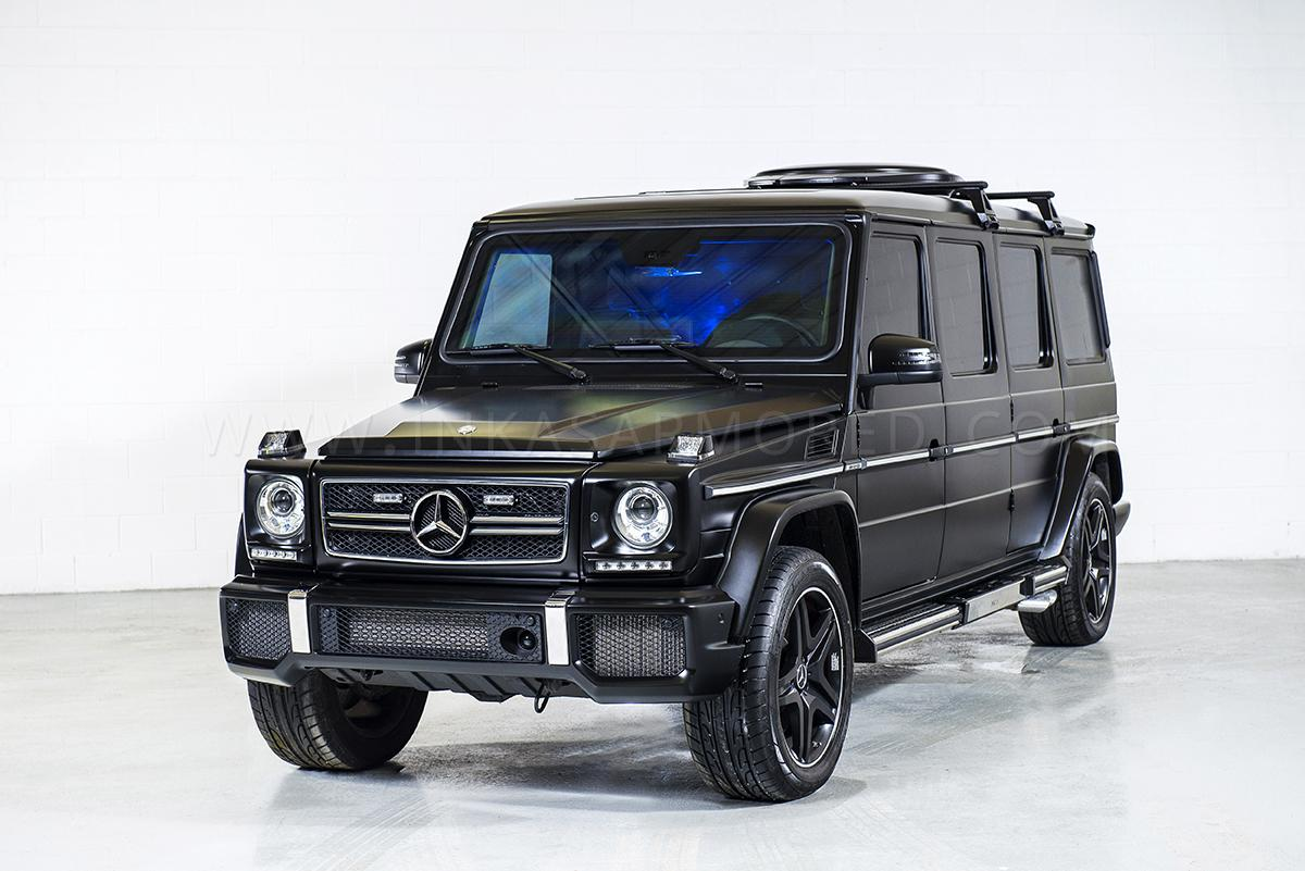 official inkas stretched mercedes benz g63 amg gtspirit. Black Bedroom Furniture Sets. Home Design Ideas