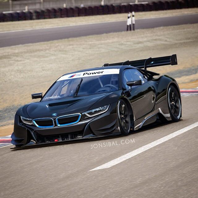 Bmw I8: BMW I8 Race Car Rendered