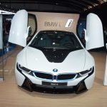 White BMW i8 Mumbai Launch