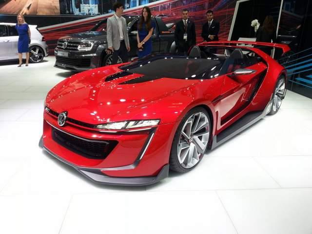 VW Golf Vision GT