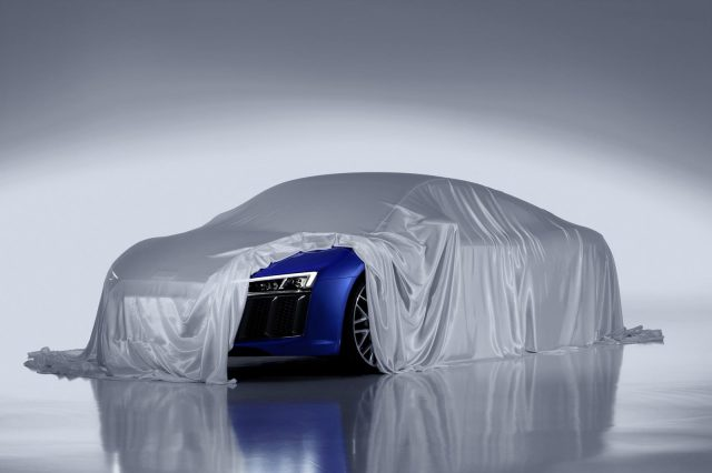 2016 Audi R8 Teaser