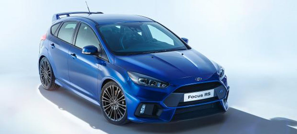 2016 ford focus rs leaks online gtspirit. Black Bedroom Furniture Sets. Home Design Ideas