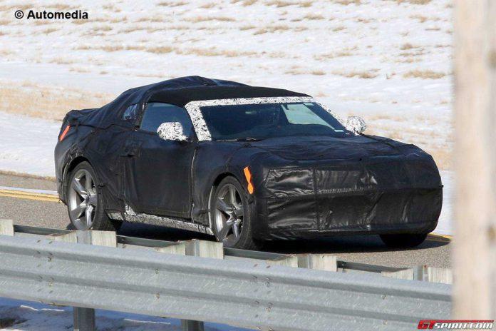 2016 Chevrolet Camaro Convertible Spied Testing