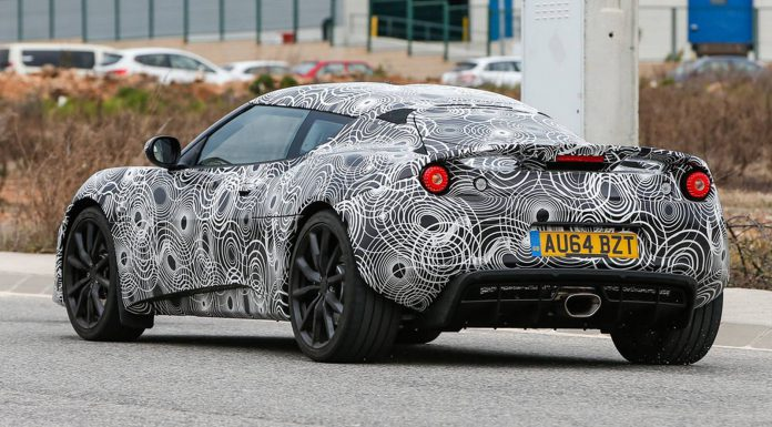 2016 Lotus Evora Facelift Spyshots Emerge Ahead of Geneva