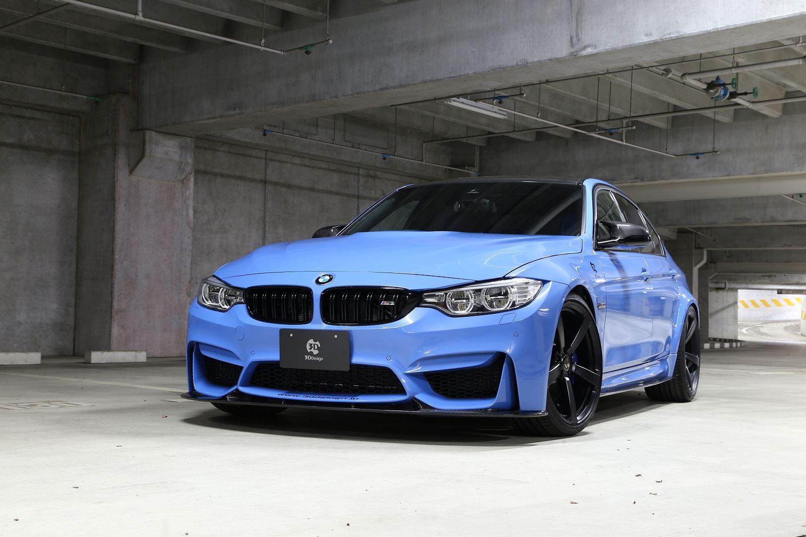 D Design Tweaks Blue BMW F M GTspirit - Blue bmw m3
