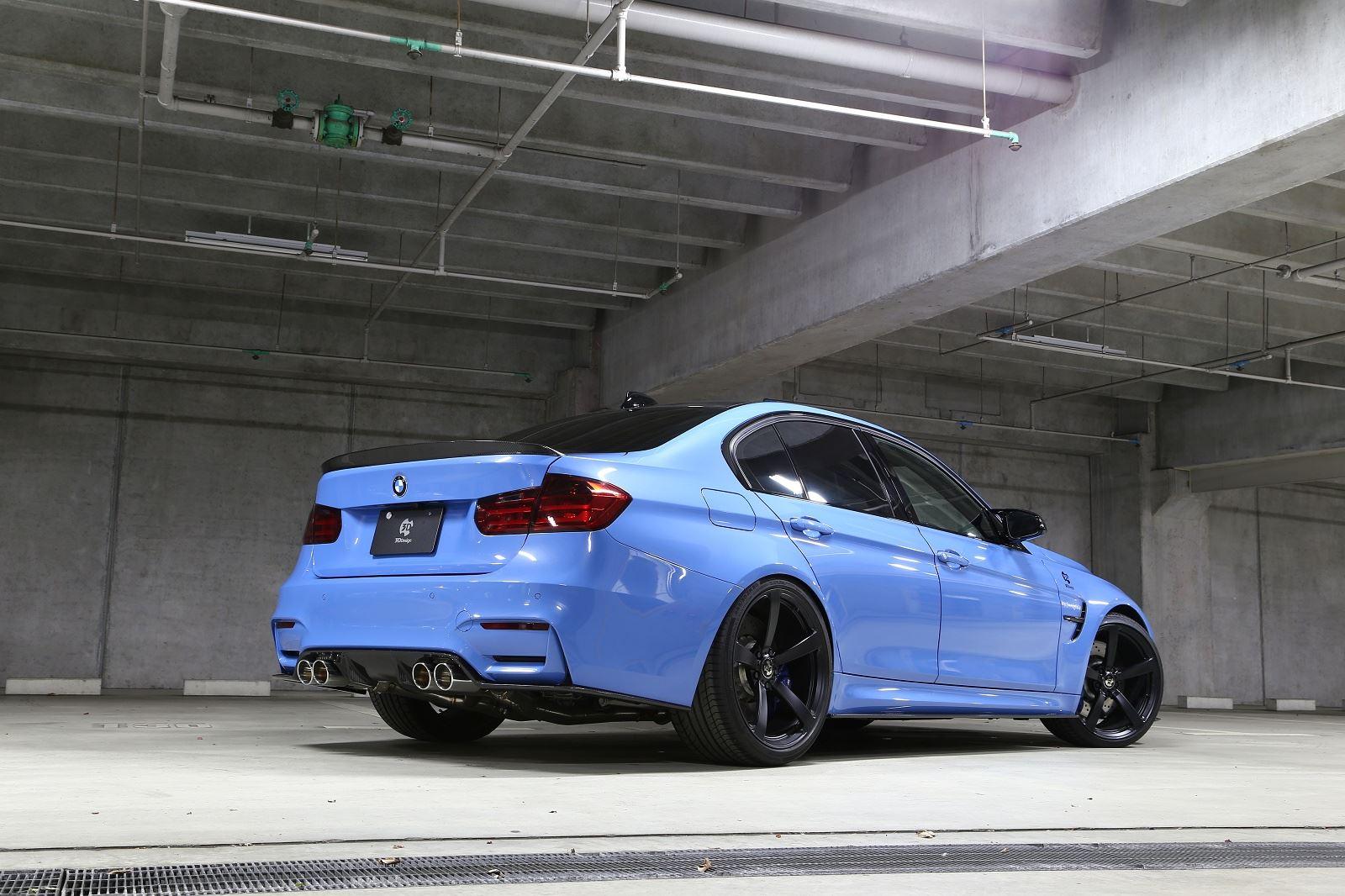 3d Design Tweaks Blue Bmw F80 M3 Gtspirit