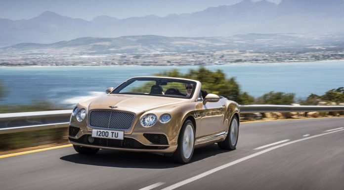2015 Bentley Continental GT Facelift