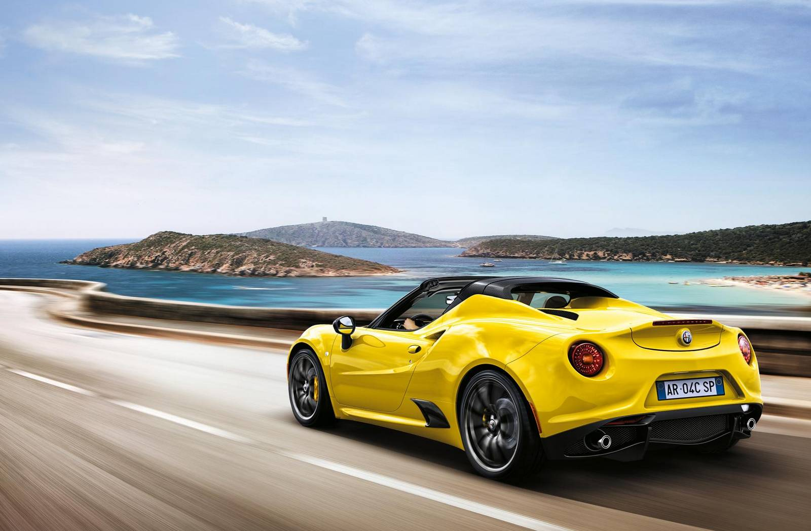 Alfa Romeo 4C Spider Priced from £59,500 in the UK